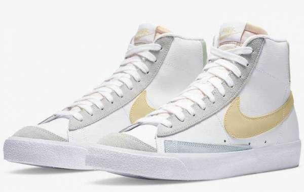 New Release Nike Blazer Mid 77 White Lemon
