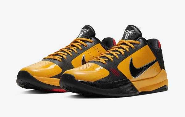 "Latest Nike Kobe 5 Protro ""Bruce Lee"" CD4991-700 to release on November 27th 2020"