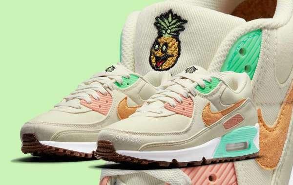 "Where To Buy Nike Air Max 90"" Happy Pineapple"" DM3054-100 ?"