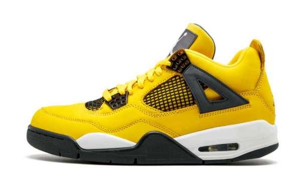 "Most Popular Air Jordan 4 ""Lightning"" Sneakers To Buy In Theairmax270.com"