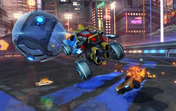 Rocket League Credits cross stage on Rocket League